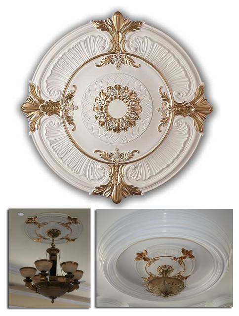 how to install modern ceiling medallions | Ceiling Medallions - Modern - Ceiling Medallions - new ...