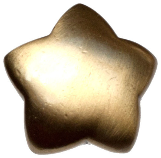 Large Star Knob - Antique Brass (BSH-683313) - Southwestern - Cabinet And Drawer Knobs - by ...