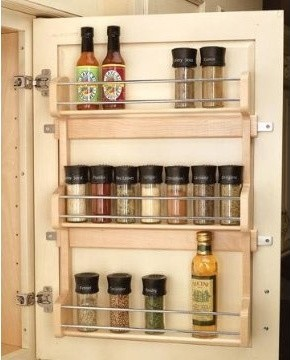 Rev-A-Shelf Door Mount Spice Rack cabinet-and-drawer-organizers