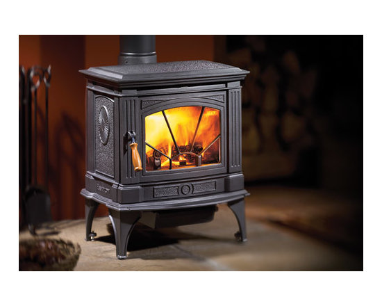 Hampton Wood Stoves - Add a sense of Old World charm to your home with the crackle of a real Hampton wood stove. The rich, porcelain, enamel finish of each Hampton cast iron product is a work of art. Choose from many customizing options to match your decor.