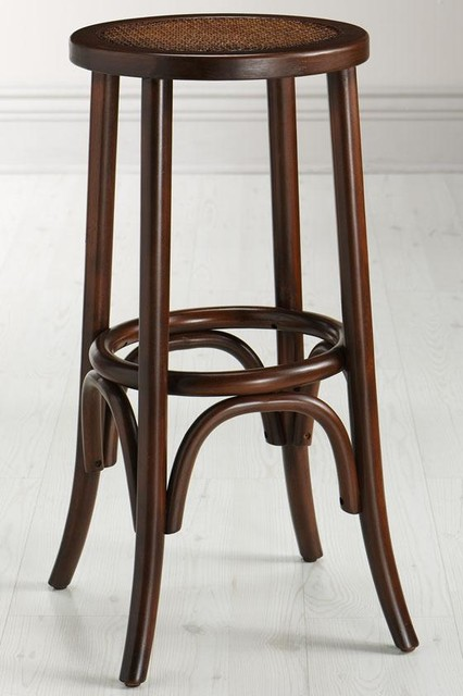 Hamilton Bentwood Stool Traditional Bar Stools And Counter Stools By Home Decorators