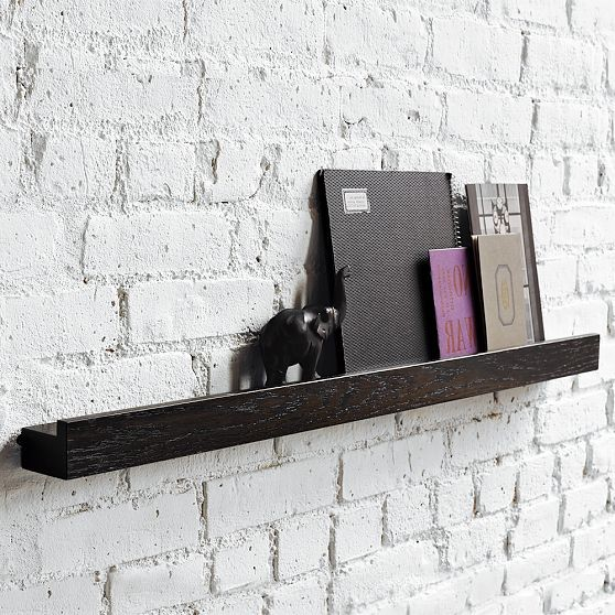Deep Picture Ledge modern wall shelves