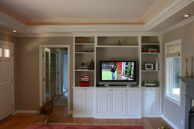 Built in media cabinet for Living room built in cabinet designs