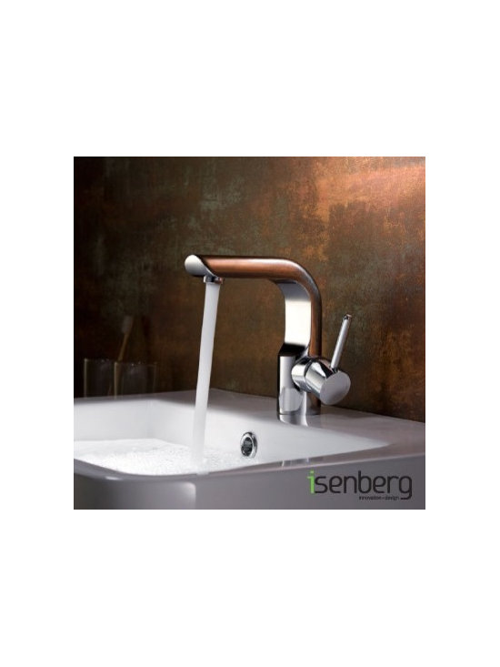 Isenberg Serie 195 Single Lever Single Hole Faucet 195.1000 - Isenberg's commitment to design and technology finds its fullest expression in its cohesive but eclectic collection of bath faucets, basin mixers, shower-heads and a whole range of bath systems and fixtures. When you are in the vicinity of an Isenberg faucet the aura surrounding it is palpable. It will invite you to feel it.