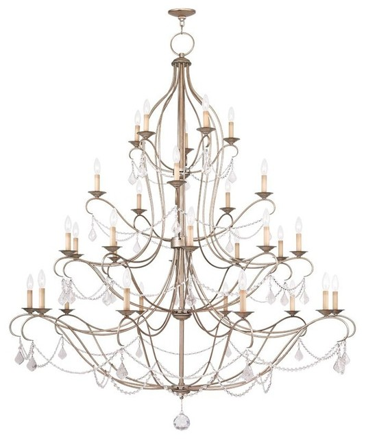 6459 73 Livex Lighting Chesterfield Traditional
