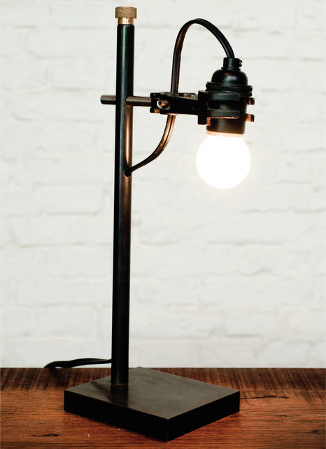 Industrial Loft Table Lamps Other Metro