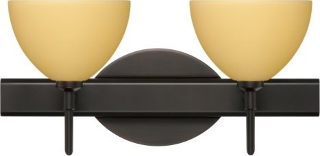 Besa 2SW-4679VM Vanilla Matte Brella Wall Light - 14.625W in. contemporary-wall-lighting
