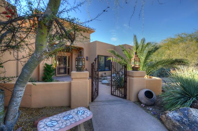 $810,000 30600 N Pima RD 100 Scottsdale, AZ 85266 mediterranean-entry