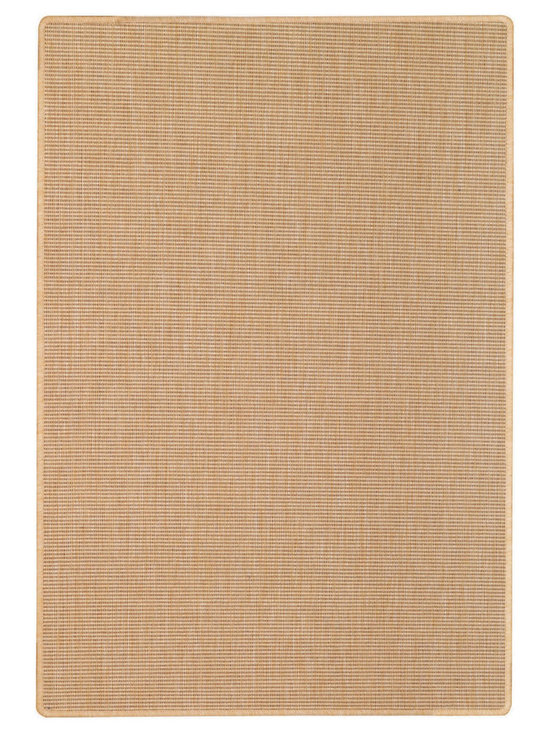 Weatherwise rug in Sisal - Capel Anywhere™ indoor/outdoor collection with outstanding features in both ribbed and checked designs.
