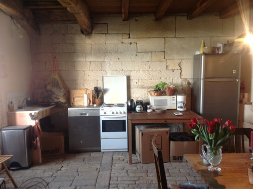 Kitchen in 17th century French house