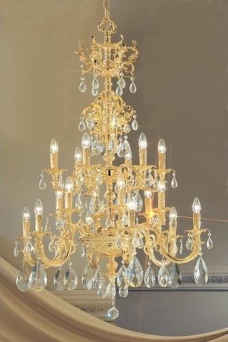 Princeton 18 Light Chandelier modern-chandeliers