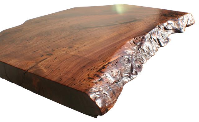 Grothouse Live Edge Wood Countertop Kitchen Countertops