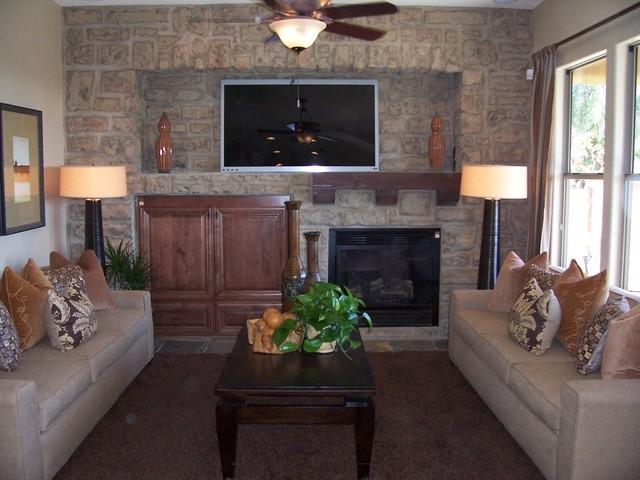 Model Home Living Room contemporary-living-room