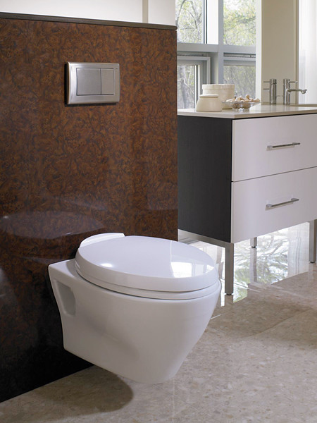 Toto Aquia wall hunging toilet   Modern   Toilets   montreal   by