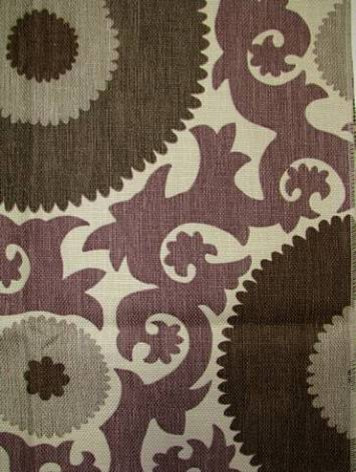 Fahri Grape Fabric eclectic-upholstery-fabric