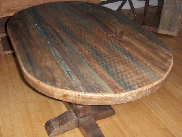 Rustic Dining Table - eclectic - dining tables - miami - by Sonrooms,
