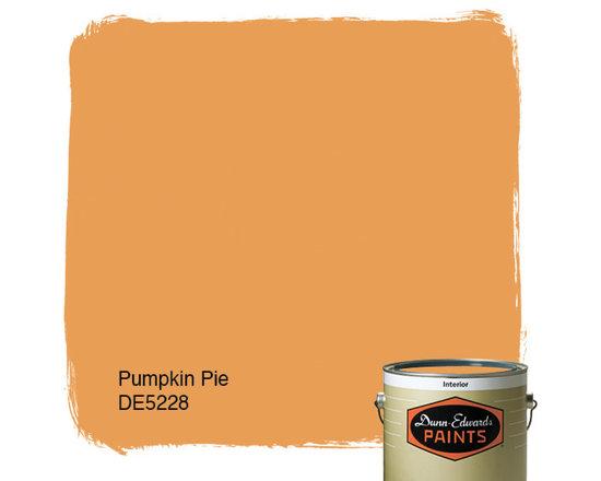 Dunn-Edwards Paints Pumpkin Pie DE5228 -