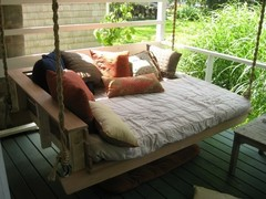 Someday! / A bed swing for my front porch!!!