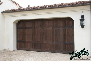Spanish Style Garage Doors Eclectic Garage Doors