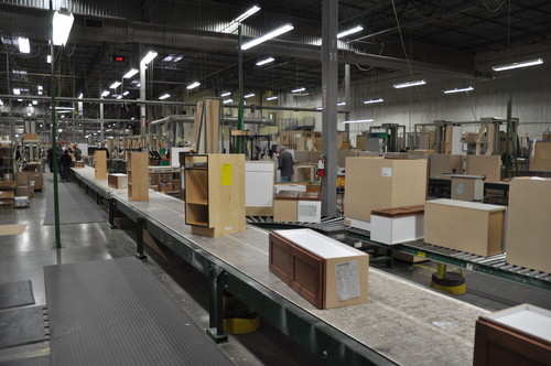 ... Cabinets Are Made, I Visited Two Manufacturers: Canyon Creek Cabinet  Company In Monroe, Washington, Which Makes Semicustom Units, And O.B.  Williams ...