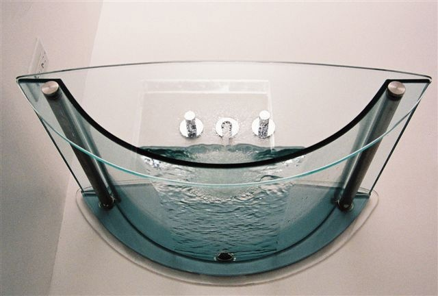 Part Of Prizma Glass Bath Collection