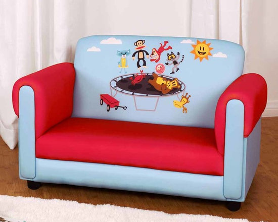 Kids Furniture - Join Julius and his friend on this sofa for two! This comfy couch is perfect for any boy or girl .