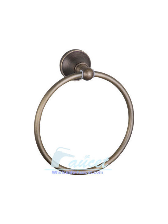 Antique Brass Bathroom Towel Ring Holder - Bath accessories add the finishing touch to your bathroom. This item's proximity to the sink and faucet makes it an important visual element in the bath. Not only does it keep hand towels handy and decorative towels displayed, it's the starting point for pulling the design motif from the lavatory across the rest of the room.