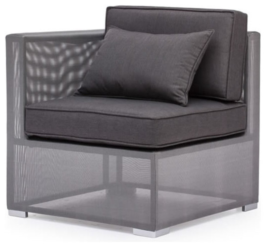 Clear Water Bay Corner Chair modern-outdoor-chairs