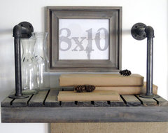 Picture Frames in Driftwood, Gray Cove Style by DA Custom Frames eclectic-picture-frames
