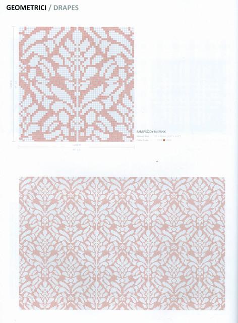 Glass Mosaic Tile Wallpaper modern