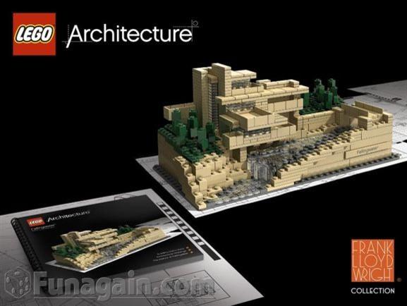 LEGO: Architecture: Fallingwater modern-kids-toys