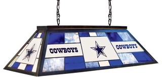 dallas cowboys nfl 40 lamp modern game room and bar decor by