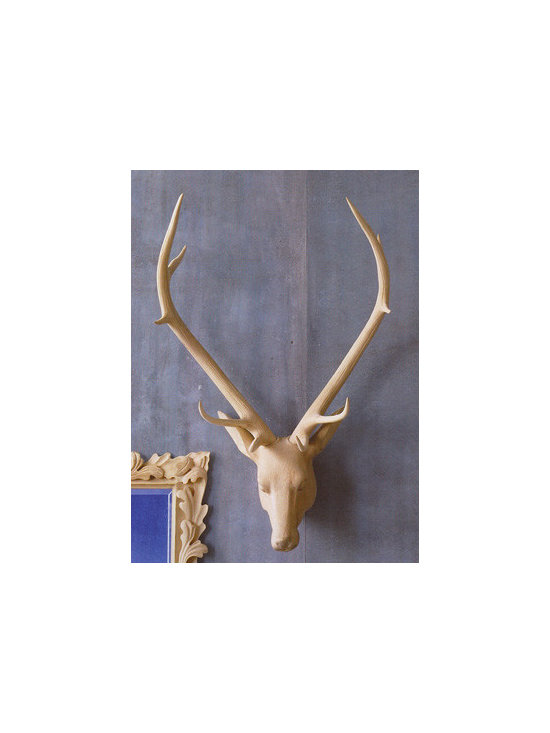 Noble Stag Head -