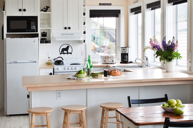 Hare's Ears Cottage at St. John's Newfoundland eclectic-kitchen