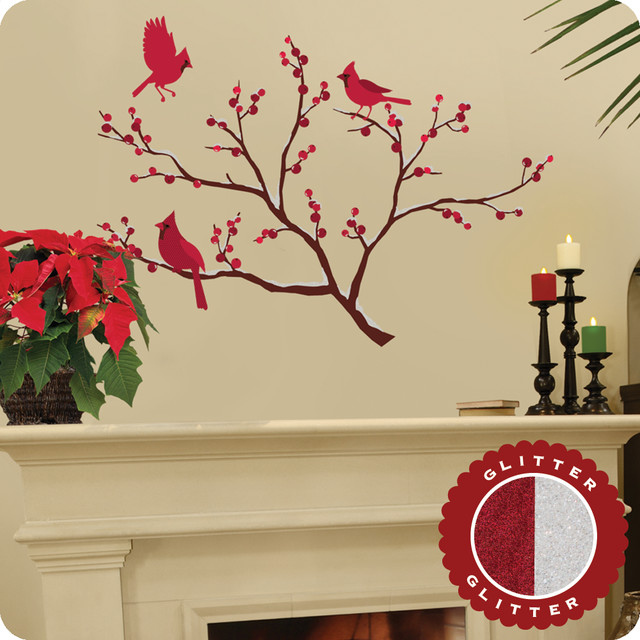 Holiday wall art decals ~ Color the walls of your house