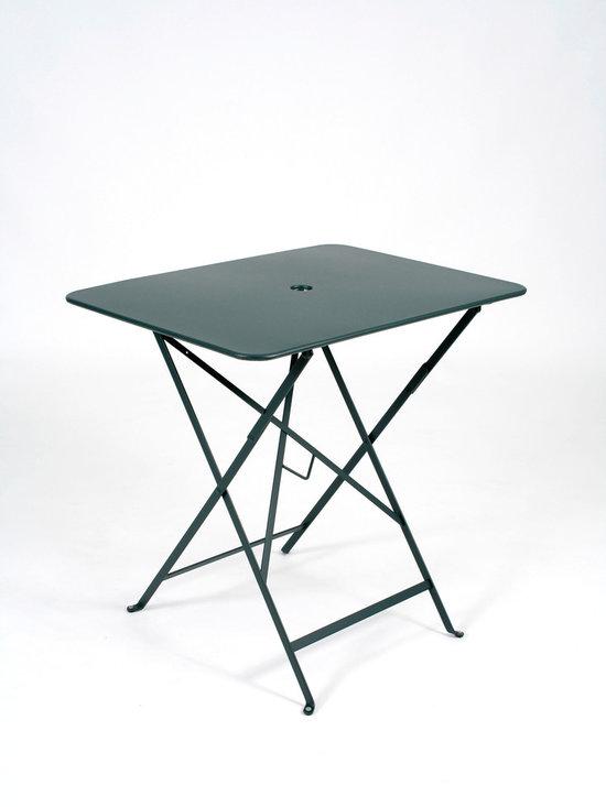 "Fermob Bistro Table - 0234 Fermob Cedar Green Bistro Table 30x22"""