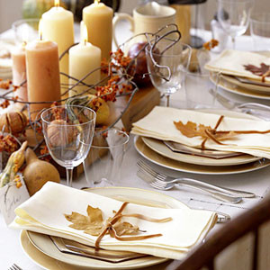 Thanksgiving Tables eclectic dining room