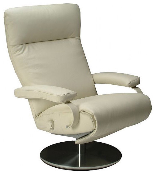 Lafer Sumi Swivel Recliner Modern Armchairs And Accent