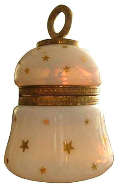 French Opaline Glass Table Lighter - $495 Est. Retail - $345 on Chairish.com contemporary-tabletop