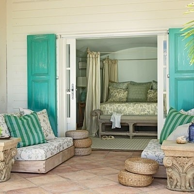 Porch off of master