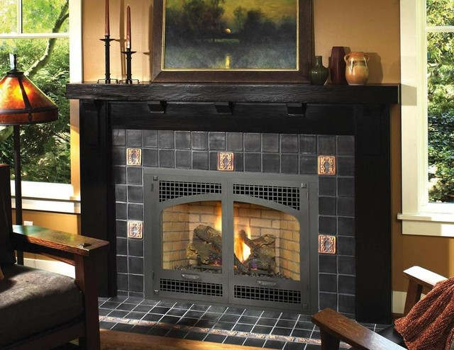 Avalon Seattle 564 SS GreenSmart Gas Fireplace Modern Indoor Fireplaces