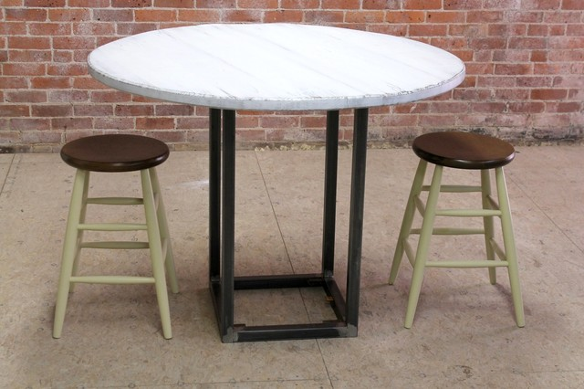 Round and Oval Dining Tables Farmhouse Dining Tables boston by Lakean