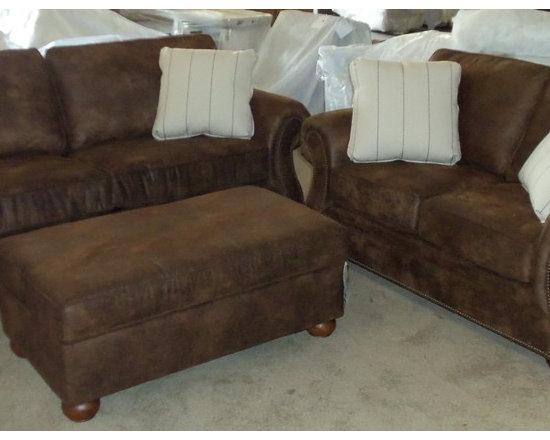 Customer Custom Orders - Broyhill Laramie Sofa and Loveseat