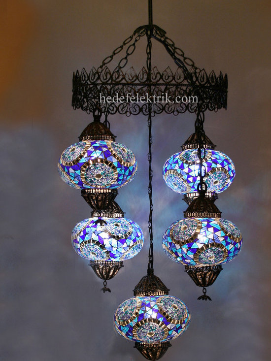 Turkish Style - Mosaic Lighting - Code: HD-04160_84