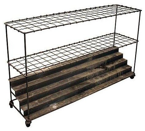 Industrial architectural plan storage cart industrial for Architectural plan storage