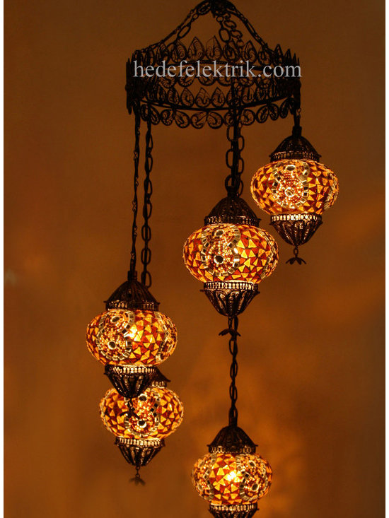 Turkish Style - Mosaic Lighting - Code:  HD-04160_81