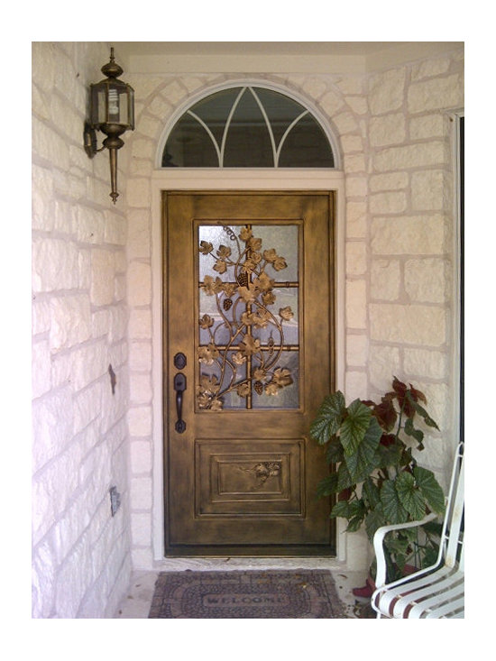 Forged Iron Entry Door -