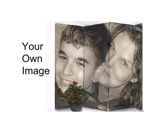 Room Divider Ideas - Have your own image on a room divider folding screen in 4ft,6ft,7ft heights, from 3 to 6 panels wide