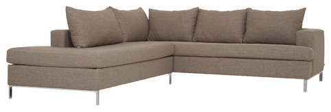 Lola Two-Piece Sectional Sofa contemporary sectional sofas
