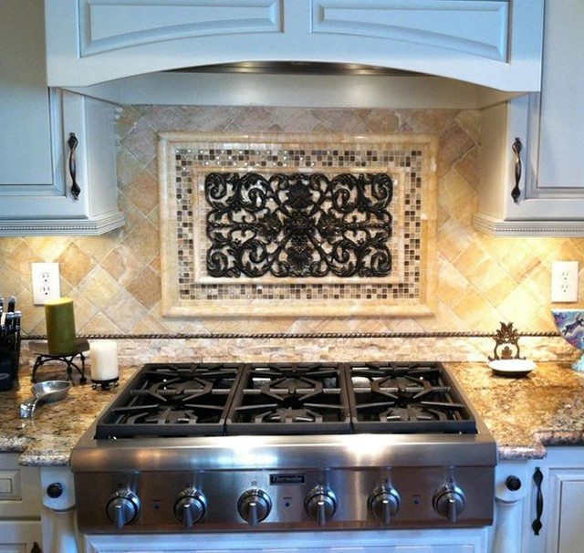 Backsplashes with Metal - Rustic - Tile - san diego - by ...